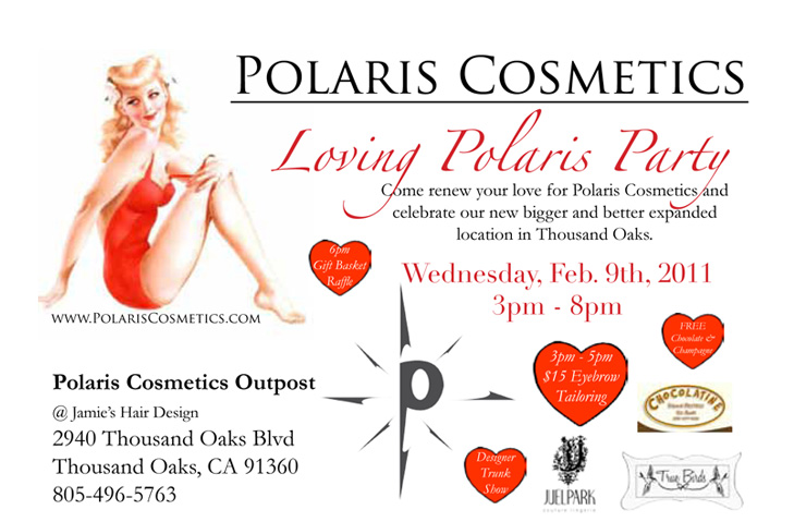 You're Invited! Loving Polaris Party